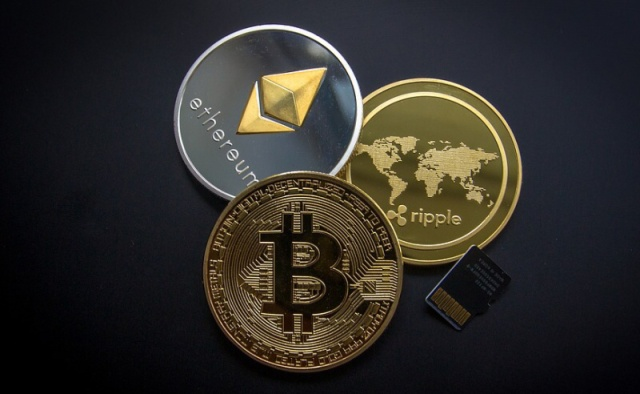Kryptoměna - bitcoin, etherum, ripple