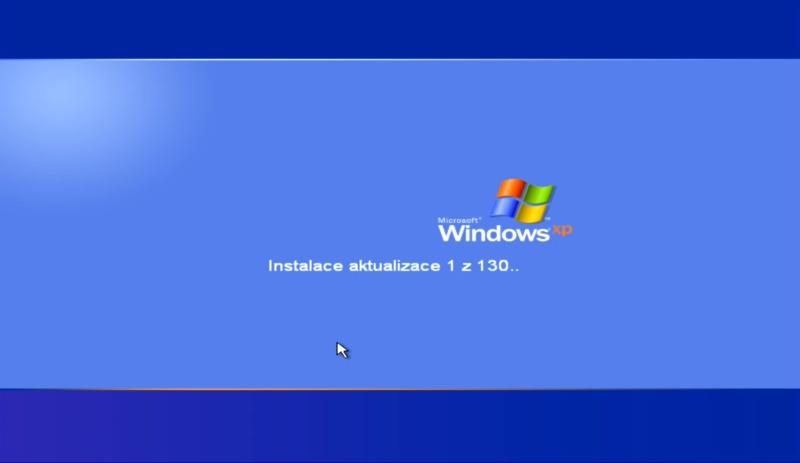 windows xp update – aktualizace