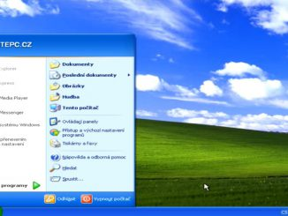 instalace windows xp