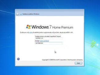 Jak nainstalovat Windows 7 (video návod)
