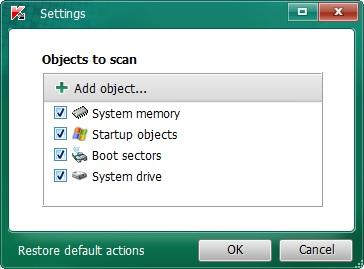 Kaspersky Virus Removal Tool 7
