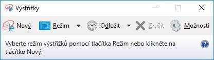 Výstřižky Windows 10 2