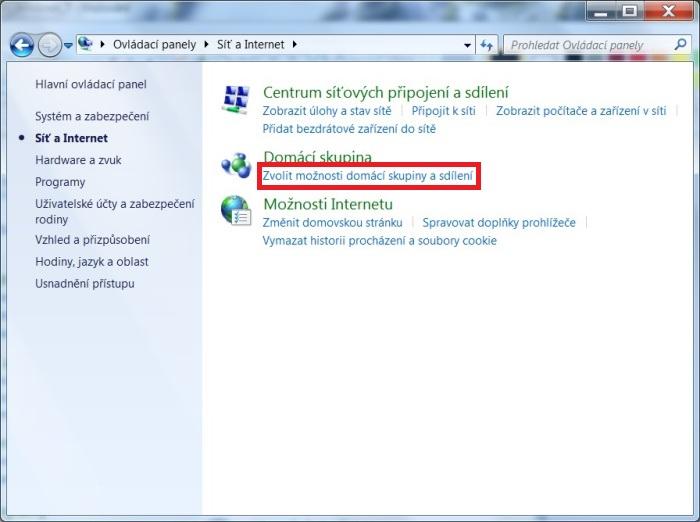 DLNA ve Windows 7. Nastavení, připojení, sdílení 2