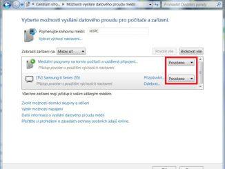 DLNA ve Windows 7. Nastavení, připojení, sdílení 4
