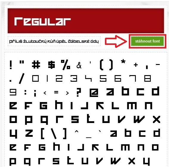 Jak nainstalovat fonty - písma do Windows 10 - 2