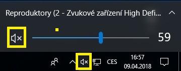 Jak zapnout zvuk na pc a notebooku