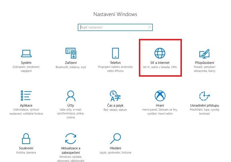 Jak zjistit zapomenuté heslo na wifi ve Windows 10