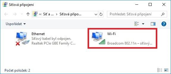 Jak zjistit zapomenuté heslo na wifi ve Windows 10 – 3
