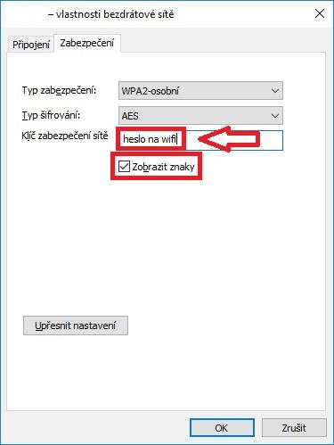 Jak zjistit zapomenuté heslo na wifi ve Windows 10 – 7