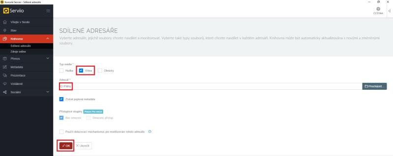 Serviio server dlna - nastavení, instalace, návod 14