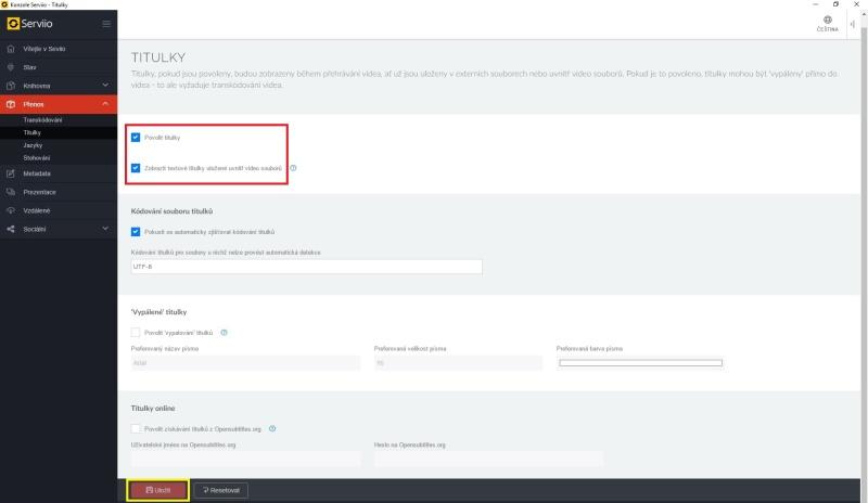 Serviio server dlna - nastavení, instalace, návod 15