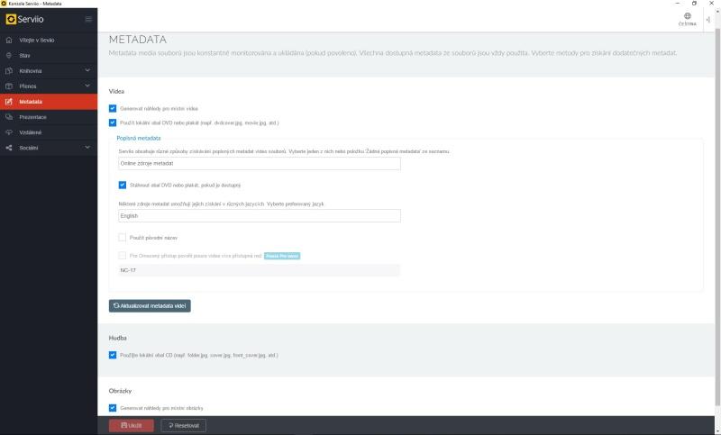 Serviio server dlna – nastavení, instalace, návod 19