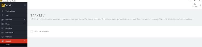 Serviio server dlna - nastavení, instalace, návod 22