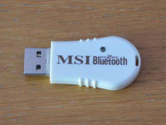 Bluetooth přijímač - adaptér MSI