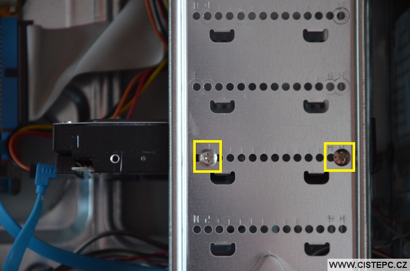 Jak připojit harddisk k pc