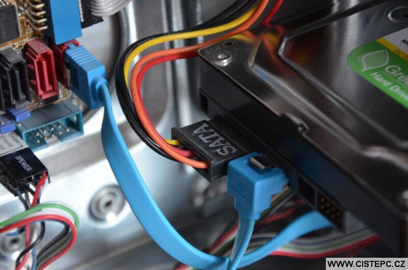 Jak připojit harddisk k pc 2