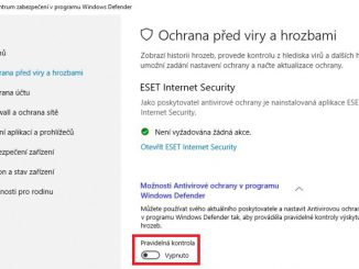 Jak vypnout Windows Defender ve Win 10 - 03