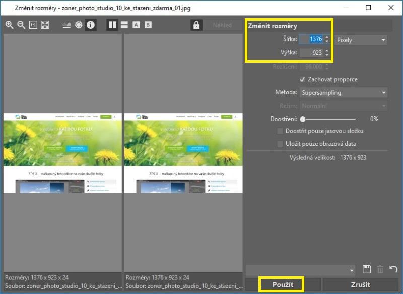 Jak zmenšit velikost fotky a obrázku