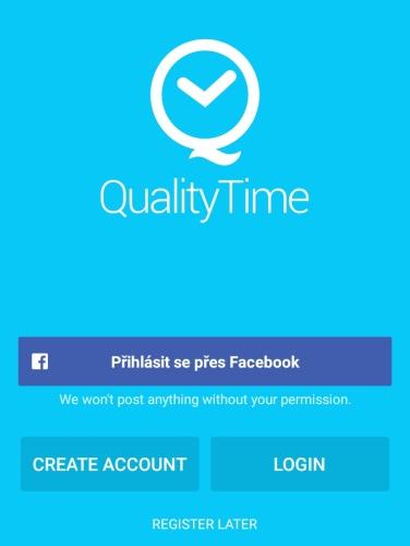 Quality Time aplikace 02