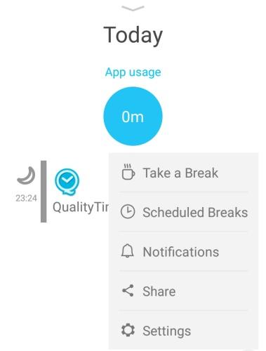 Quality Time aplikace 04