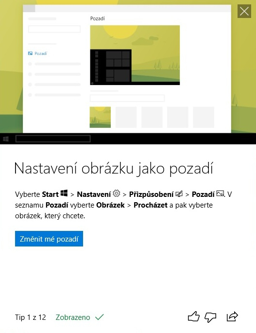 Jarní aktualizace Windows 10 – April update 2018 – 20