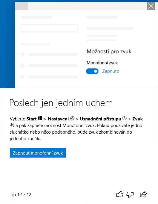 Jarní aktualizace Windows 10 – April update 2018 – 31