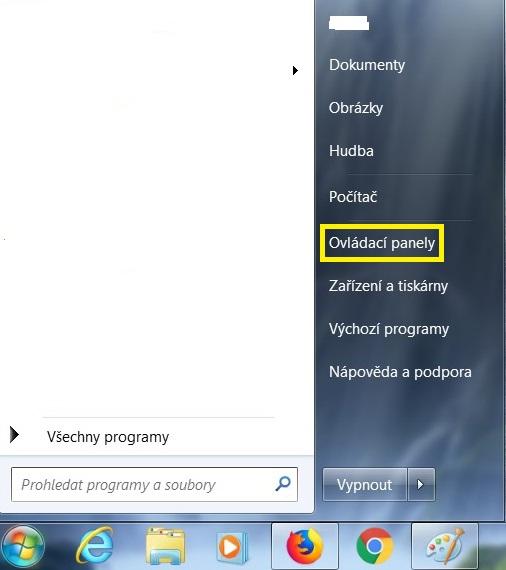 Jak odinstalovat program v počítači ve Windows 7