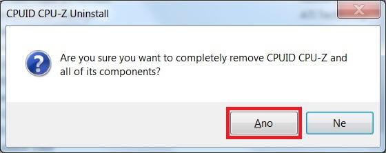 Jak odinstalovat program v počítači ve Windows 7 - 04