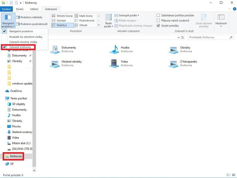 Jak vytvořit knihovnu ve Windows 10 - 02