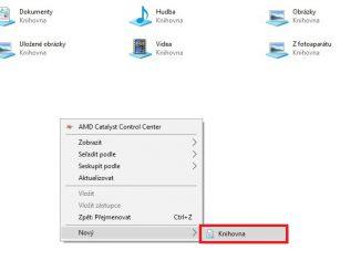 Jak vytvořit knihovnu ve Windows 10 - 03