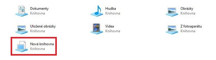 Jak vytvořit knihovnu ve Windows 10 - 04