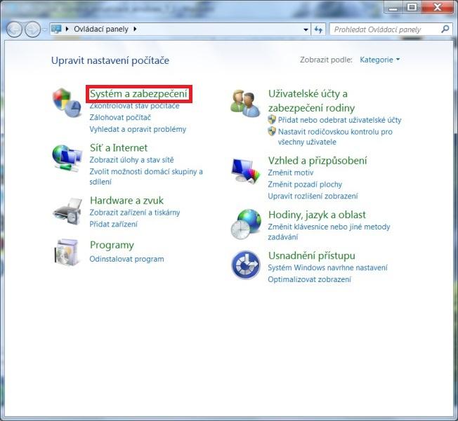 Jak zakázat aktualizace Windows 7 - 2