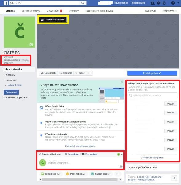 Jak založit firemní Facebook stránku 7