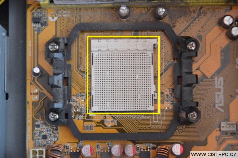 Výměna procesoru v PC - 3