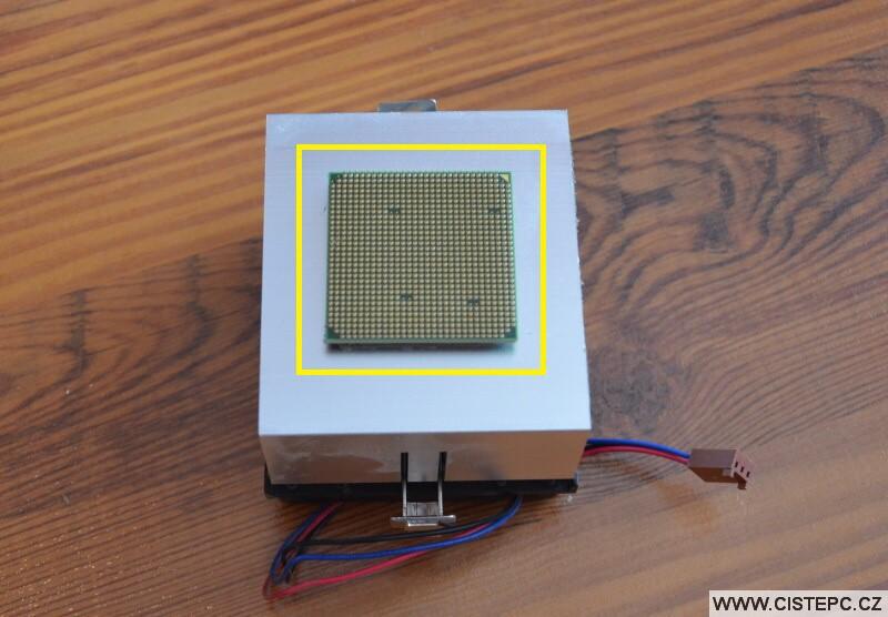 Výměna procesoru v PC - 4