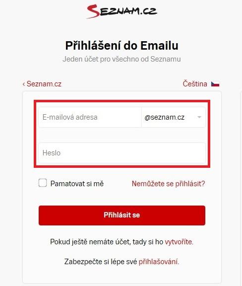 Email Seznam Profi 02