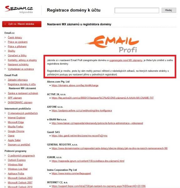 Email Seznam Profi 05