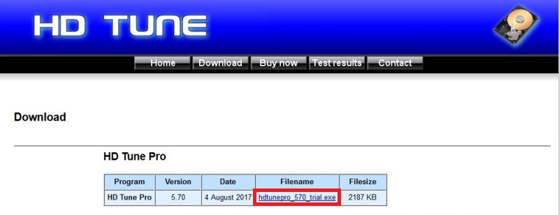 Hd Tune Pro 5.70 trial 02