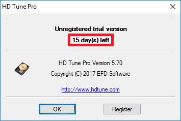 Hd Tune Pro 5.70 trial 11