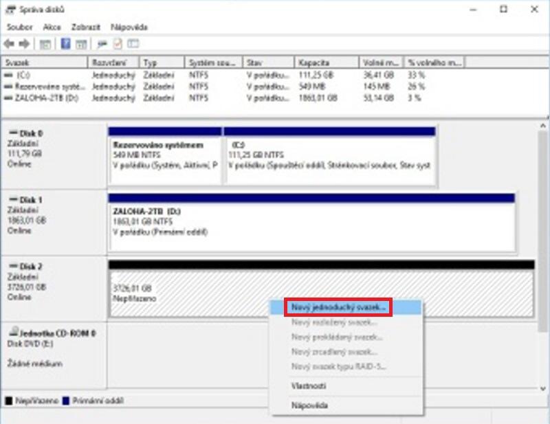 Jak přidat hard disk do pc 3