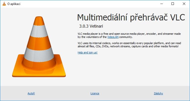 vlc multimediální přehrávač 3.0.3