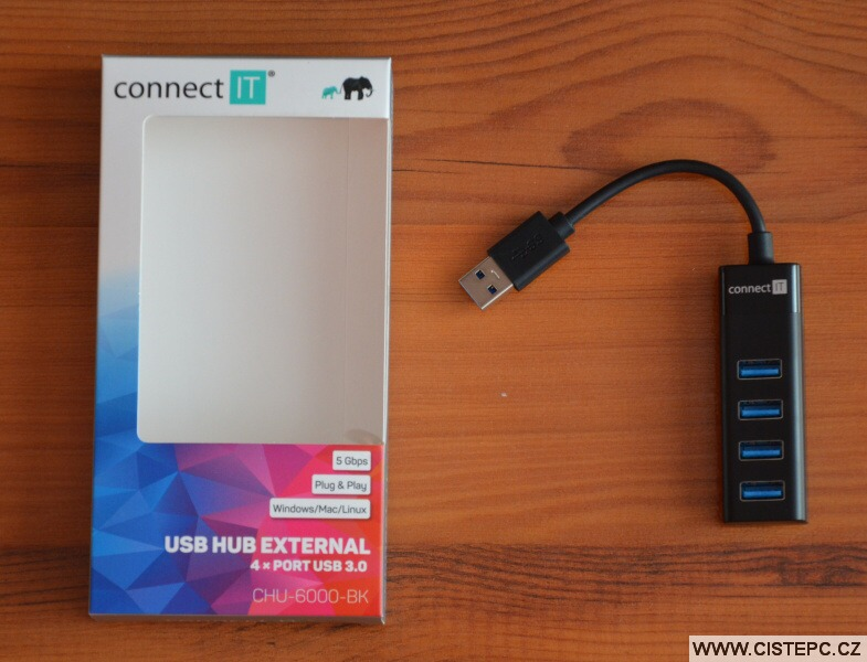 USB HUB Connect IT CHU-6000-BK - 2