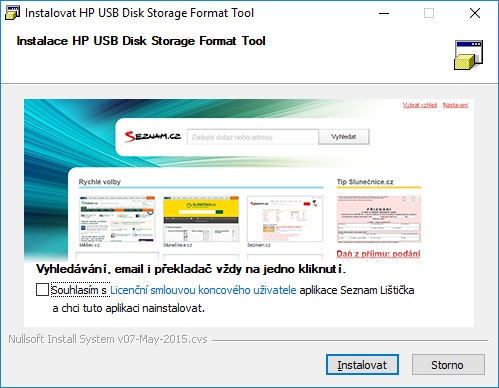 HP USB Disk Storage Format Tool - 1