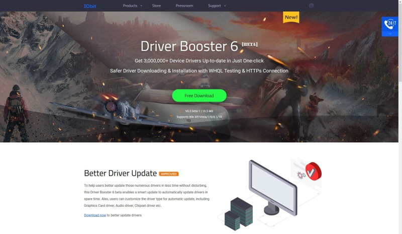 IObit Driver Booster 6 beta 01