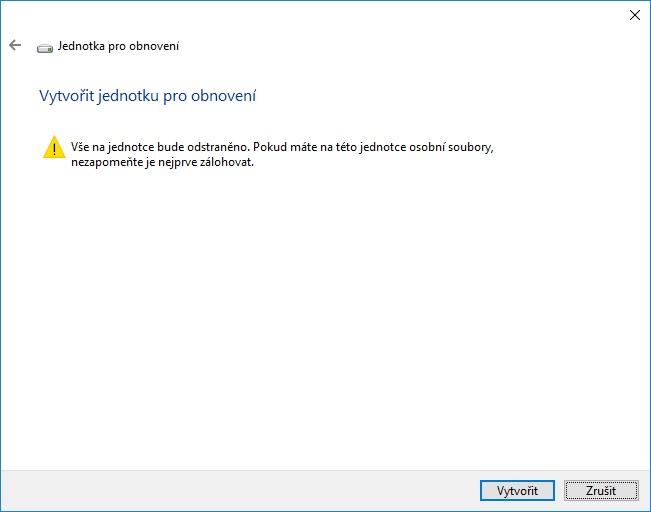 Záchranný disk Windows 10 - 04
