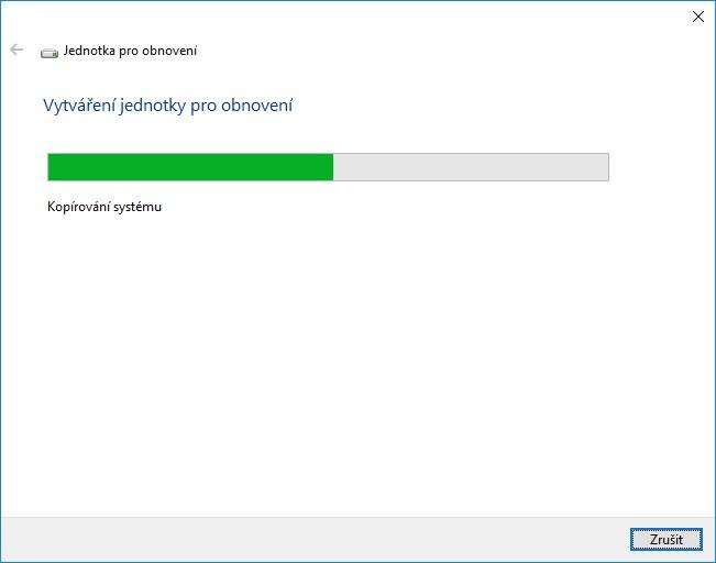 Záchranný disk Windows 10 - 05