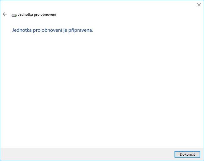 Záchranný disk Windows 10 - 06