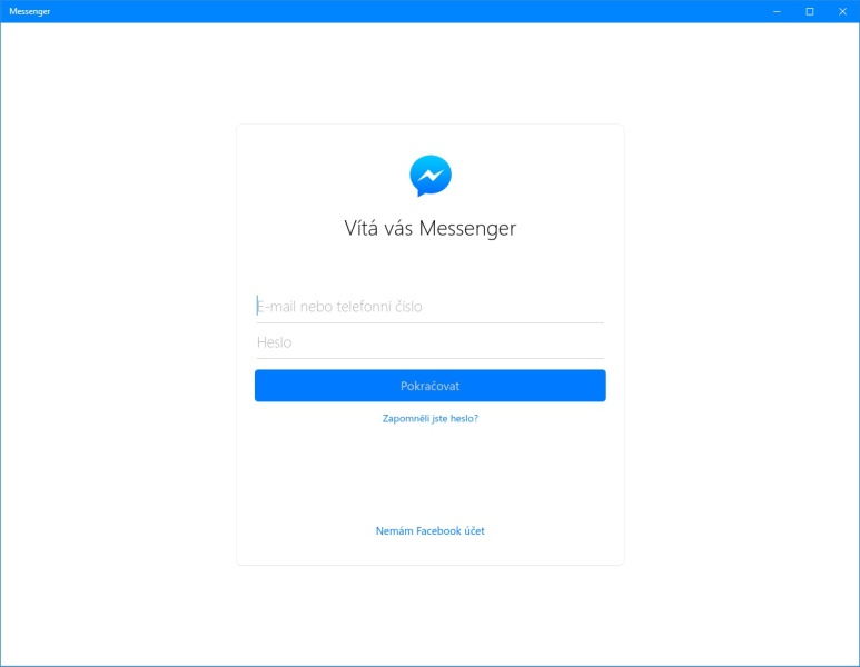 Facebook Messenger pro PC - Windows 10 - 04
