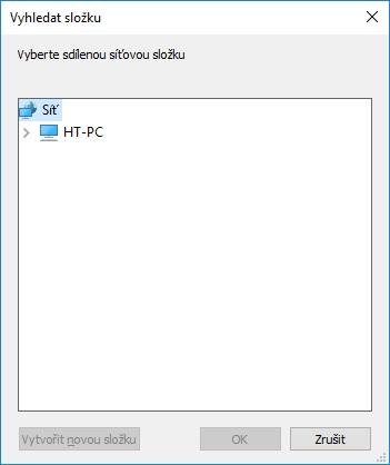 Připojení síťové jednotky ve Windows 10 - 3
