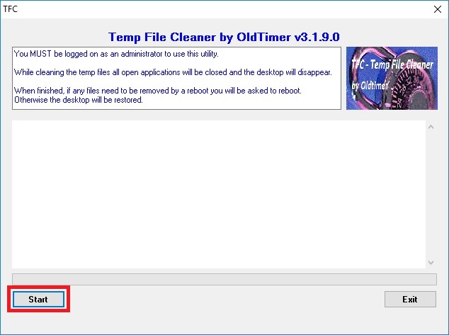TFC - temp file cleaner 3